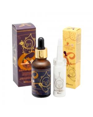 Elizavecca - VitaminC 100% Powder + Vita-Multi Whitening Sauce Serum