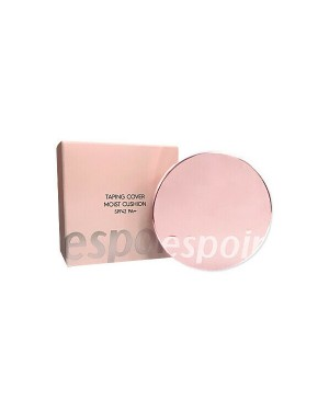 eSpoir - Taping Cover Moist Cushion (SPF42 PA++) - 1pack (13g+refill) - 21W Ivory