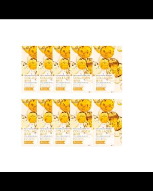EUNYUL - Pack masque hydratant naturel - Collagène - 10pcs