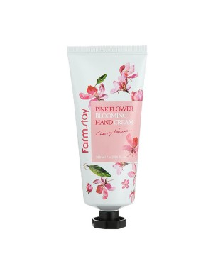 Farm Stay - Crème pour les mains Blooming Pink Flower - 100ml - Cherry Blossom