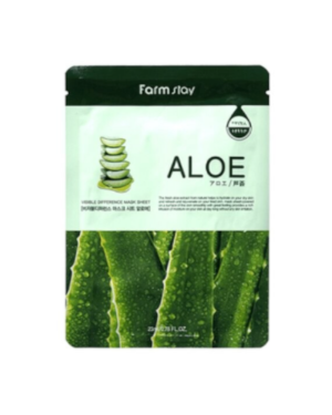Farm Stay - Visible Difference Mask Sheet - Aloe - 10pcs
