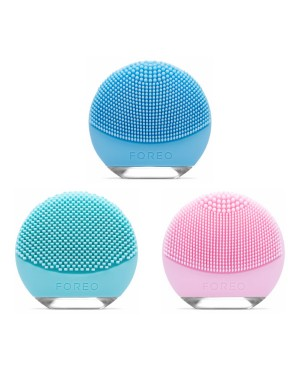 Foreo - Luna GO Compact Facial Cleansing Brush and Anti Aging Massager (110-220V Voltage) - 1set