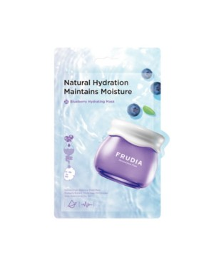 FRUDIA - Blueberry Hydrating Masque (nouveau) - 20ml*10pcs