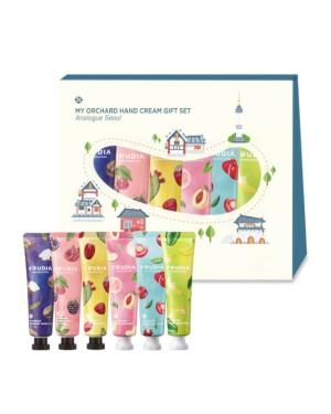 FRUDIA - Coffret cadeau crème pour les mains My Orchard - Analogue Seoul - 6pcs
