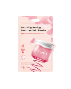 FRUDIA - Pomegranate Nutri-Moisturizing Masque (nouveau) - 20ml*10pcs