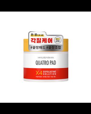 HANURSINBIHAN - Quatro Solution Exfoliante Pad - 70ea, 195ml