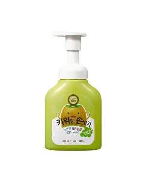 HAPPY BATH - Lavage à la main Bubble Hand Wash - Kiwi - 250ml