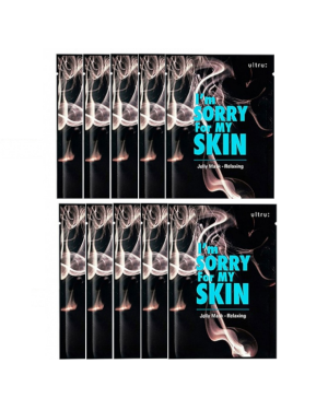 I'm Sorry For My Skin - Jelly mask - Relaxing - 10pcs