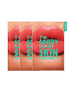 I'm Sorry For My Skin - pH 5.5 Jelly mask - Purifying - 3pcs