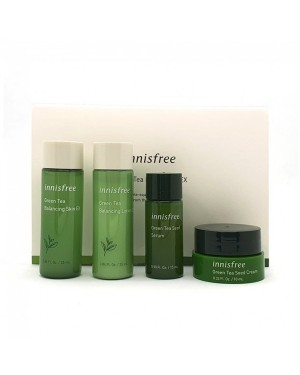 innisfree - Green Tea Kit - 1pack (4items)