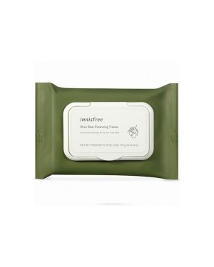 innisfree - Olive Real Cleansing Tissue - (2019) - 1pack (30pcs)