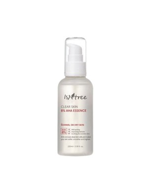 Isntree - Clear Skin 8% AHA, Essence - 100ml