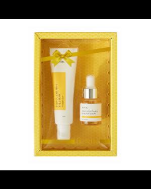 iUNIK - Ensemble de crème pour les yeux à la propolis et aux vitamines - 2pcs