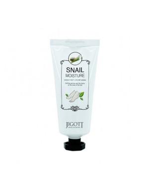 Jigott - Snail Moisture Crème pour les pieds - 100ml