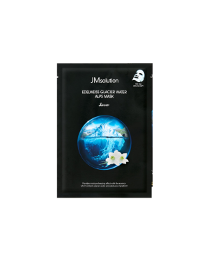 JM SOLUTION - Edelweiss Glacier Water Alps Mask Snow - 1pc