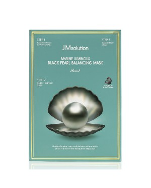 JMsolution -Marine Luminous Black Pearl Balancing Mask - 10pcs