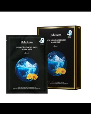 JM SOLUTION - Snow Lotus Glacier Water Alaska Mask Snow - 10pcs