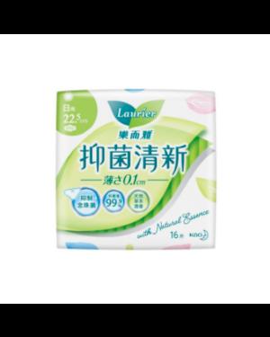 Kao - Laurier Anti Bacteria Jour Ultra Slim 22,5 cm - 16pcs