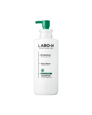 LABO-H - Hair Loss Relief Shampoo - Scalp Strengthening - 400ml