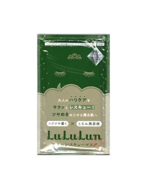 LuLuLun - One night rescue Masque pour peaux matures (raffermissant) - 1PCS