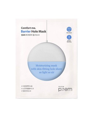 make p:rem - Comfort me. Barrier hole mask - 1pc