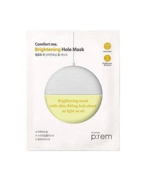 make p:rem - Comfort me. Brightening hole mask - 1pc