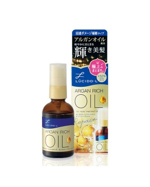 Mandom - Lucido-L - Hair Treatment Oil Essence Charge - 58ml