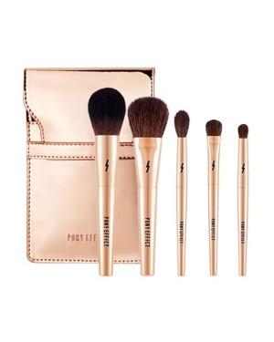 MEMEBOX - Mini Makeup Brush Set - 5pcs