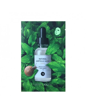 Merry Youth - Natural Ampoule Mask - Snail - 1pc