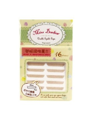 Miss Bow Bow - Double Eyelid Tape #1 - 16pcs