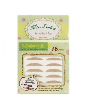 Miss Bow Bow - Double Eyelid Tape #2 - 16pcs