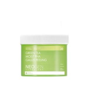 NEOGEN Dermalogy - Gaze Peeling PHA au thé vert - 190ml / 30ea