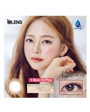 Olens - Natural Day 1 Day - Brown - 10P