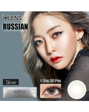 Olens - Russian 1 Day - Silver - 20pcs