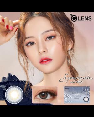 Olens - Spanish Circle 1 Month - Circle Gray - 2pcs