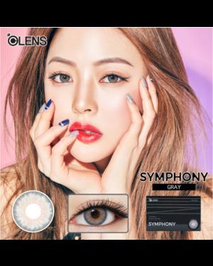 Olens - Symphony 1 Month - Gray - 2pcs