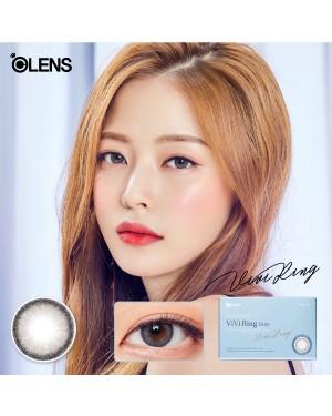 Olens - Viviring 1 Month - Gray - 2pcs