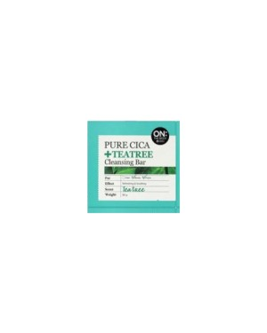 ON THE BODY - Pure Cica Barre nettoyante Teatree - 90g
