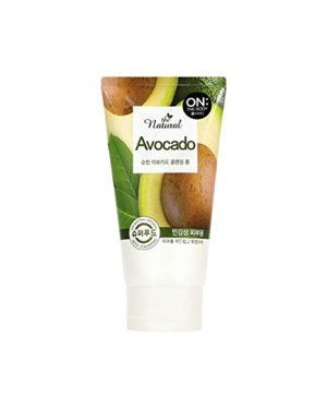 ON THE BODY - The Natural Avocado Mousse nettoyante - 120g
