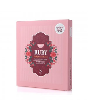 PETITFEE - Koelf Ruby & Bulgarian Rose Mask Pack - 5pcs