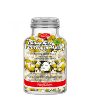 PUREDERM - Chamomile Collagen Mask-B - 10pcs
