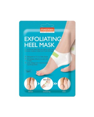 PUREDERM - Exfoliating Heel Mask - 1 Pair
