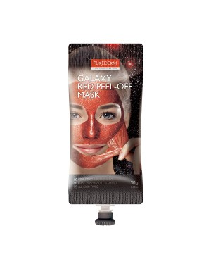 PUREDERM - Galaxy Peel-off Mask Red - Spout - 30g