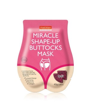 PUREDERM - Masque de fesses Miracle Shape-Up - 10 paires - 10pairs
