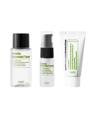 PURITO - Mini Kit Centella Sans Parfum - 1set(3items)