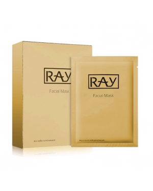 Ray - Gold Facial Mask - 10pcs