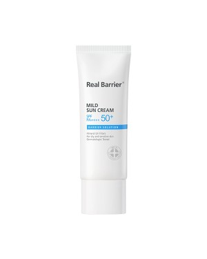 Real Barrier - Crème solaire douce SPF50 + PA ++++ - 40ml