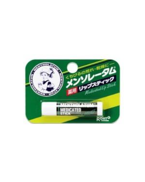 Rohto Mentholatum  - Medicated Stick à lèvres - Menthol - 4.5g