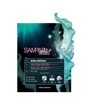 SAMPAR - Addict Urban Defense Sheet Mask - 1pc