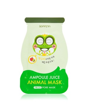 SCINIC - Somoon Masque Animal Ampoule Juice - Frong - Pore - 1pc
